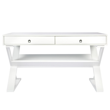 Jett Desk in White Lacquer by Z Galleries